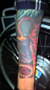 mighty sharingan tattoo youtube
