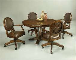 dinette chairs with casters conference room chairs with casters