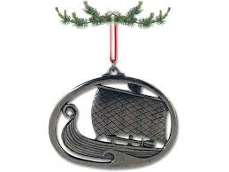 pewter ornament viking ship pewter tree ornaments