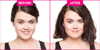 hair styles for round face and cheekbone how to slim a round face in 3 easy steps using blush to add