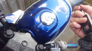 how to fix stuck motorcycle gas cap youtube