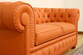 Real Chesterfield Sofa by Orange Chesterfield Sofa A Very Original Sofa U2013 Chesterfield Sofa