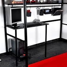 lit mezzanine noir avec bureau lit mezzanine 140 mobilier sur enperdresonlapin