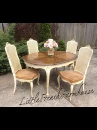 French Provincial Dining Room Chairs Baker Furniture French Provincial Dining Table With Louis Xvi