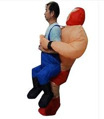 Inflatable Halloween Costume Buy Inflatable Halloween Costume Male Female Ghost Bar