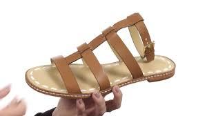 michael michael kors fallon flat sandal sku 8845234 youtube