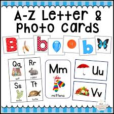 a z letter cards photo cards alphabet flash cards u0026 more the