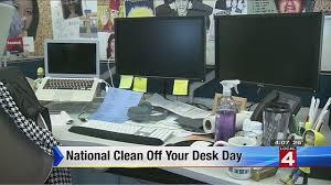 Clean Computer Desk It U0027s National Clean Your Desk Day
