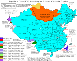 china on a map a map of greater china made in big think