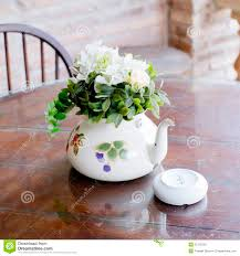 Flower Home Decor by Vase Of Beautiful Flowers On Coffee Table Home Decor Stock Photo