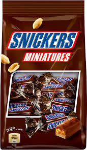 snickers miniatures chocolates 150 gms amazon in grocery
