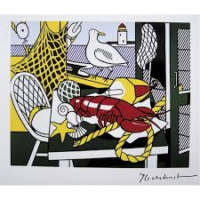 i chose still life cape cod ii by roy lichtenstein because i like