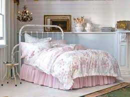 Pink Rose Duvet Cover Set Bedding Sets Bedroom Color Shabby Chic King Comforter Sets