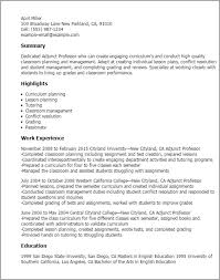 adjunct faculty cover letter trend sample cover letter for