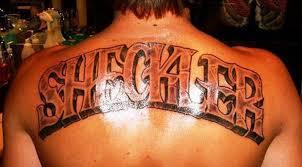 last name back tattoo designs u2013 images free download