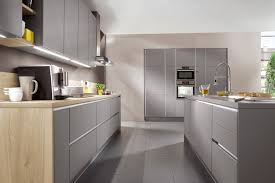 german design kitchens the selection of fronts and elements from line n leaves virtually
