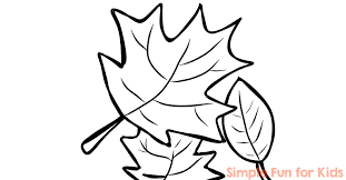 Fall Coloring Pages Simple Fun For Kids Fall Coloring Page