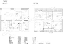 plan maison en u ouvert plant de maison maison moderne abordable modle de maison avec