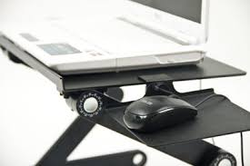 icraze adjustable vented laptop table laptop computer desk