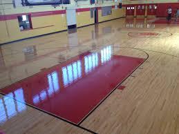Basketball Court Floor Plan Basketball Court Installation In Nj Hardwood Flooring