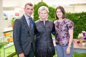 Charlotte Moss by Architectural Digest And Neiman Marcus Celebrate Spring With