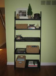 ana white leaning ladder shelf diy projects