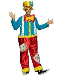 Mens Clown Halloween Costumes Clown Funny Costume Men Clown Costumes