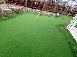 Small Backyard Putting Green Artificial Turf Installation Dupont Washington Putting Green