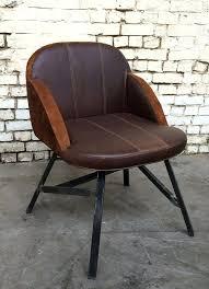 chaise de bureau style industriel chaise fauteuil vintage chaise c2m cuir style industriel ractro