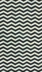 Black And White Chevron Rug Wave Chevron Hide Rug From Modella Wool By Nuloom Plushrugs Com