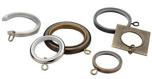 curtain rings images Metal curtain rings for 1 3 16 quot curtain rods jpg
