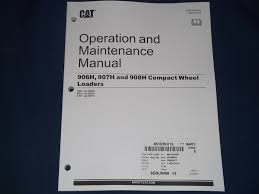 cat caterpillar 906h 907h 908h wheel loader operation