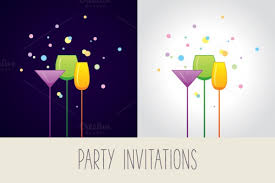 Cocktail Party Invite - 21 cocktail party invitations psd vector eps jpg download
