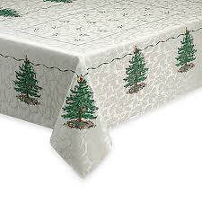 spode tree tablecloth bed bath beyond