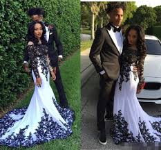 prom dresses 2017 black couple women formal evening party