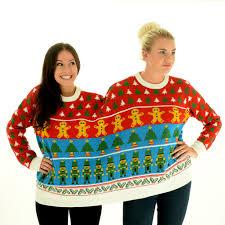 bff nutcracker twosie 2 person christmas sweater hmm boyfriend
