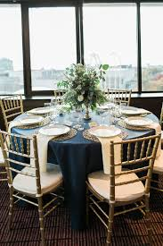 Navy Table L 40 Table Settings For Tables 58 Centerpieces And