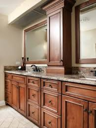 Double Vanity With Tower Bathroom Tower Cabinets Foter
