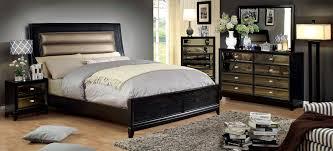 Contemporary Black Bedroom Furniture Black Cal King Bedroom Set Descargas Mundiales Com