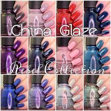 china glaze rebel collection fall 2016 polish and paws