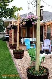 hanging outdoor string lights how to hang backyard string lights deck lighting ideas to hang patio