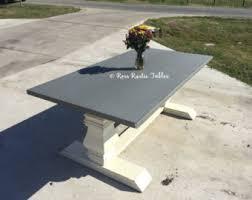 Zinc Table Top Zinc Table Etsy
