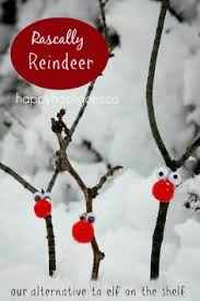 our twig reindeer decorations eyfs earlyyears aceearlyyears