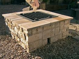 fire pit made of bricks outdoor fire pits and fire pit safety hgtv