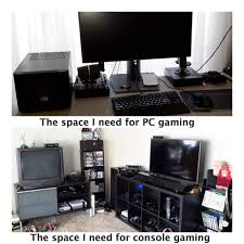 Console Gaming Desk Console Gamer Problems Dhtg