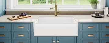 how to install an apron sink in an existing cabinet kraus usa apron front sinks kitchens