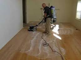 dustless buffing hardwood floors
