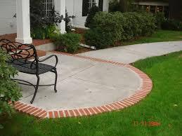 Concrete Patio Cost Per Square Foot by Patio Brick Patio Cost Per Square Foot Inspiring Garden And