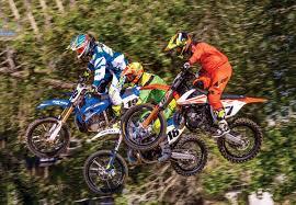 motocross race fuel dirt bike magazine 2 stroke mx shootout husky ktm yamaha