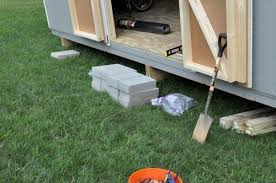 Plans To Build A Wood Shed by How To Build A Shed Ramp One Project Closer